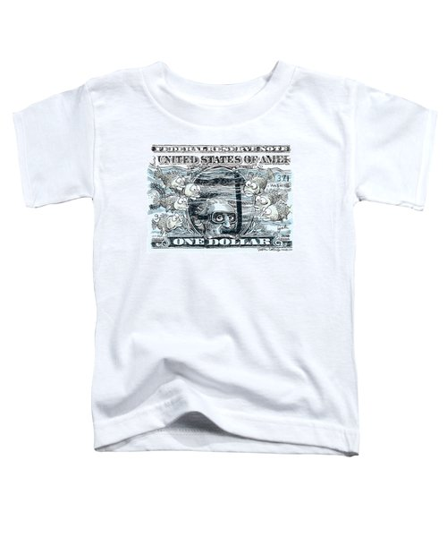 Dollar Submerged Toddler T-Shirt