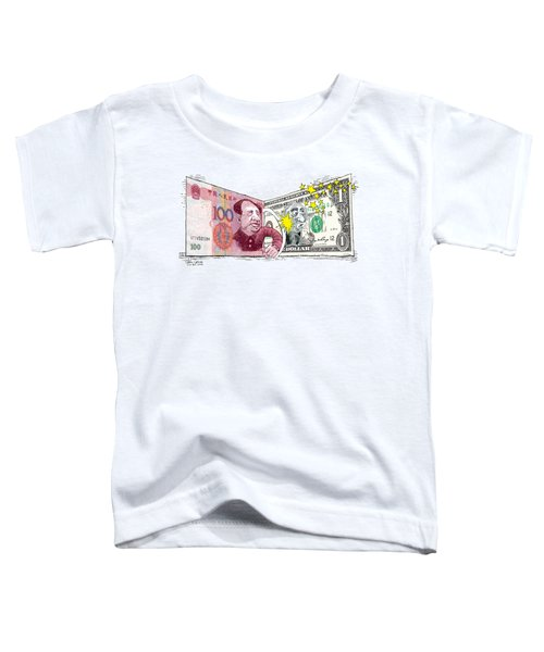 Dollar Vs Yen Toddler T-Shirt