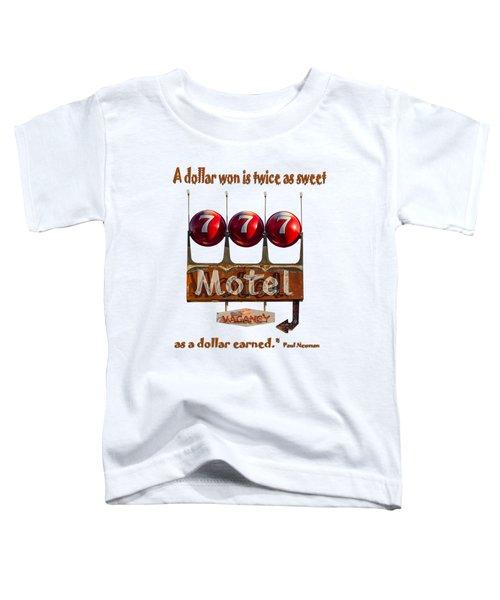Dollar Won Toddler T-Shirt