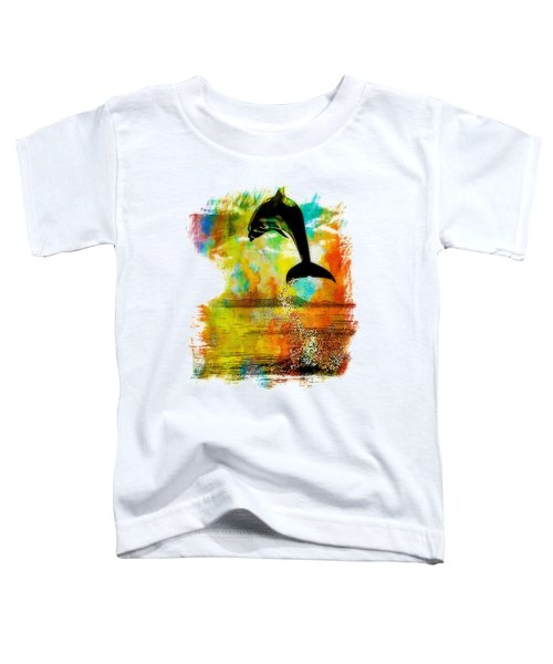 Dolphin Sunset Toddler T-Shirt