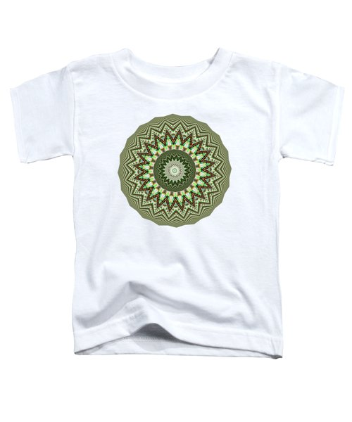 Dome Of Chains Mandala By Kaye Menner Toddler T-Shirt