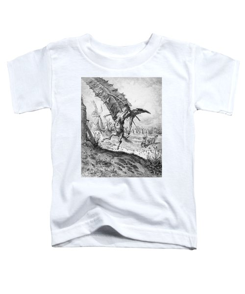 Don Quixote And The Windmills Toddler T-Shirt