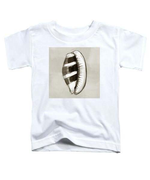 Toddler T-Shirt featuring the painting Donkey Cowrie by Judith Kunzle