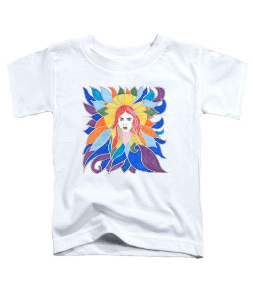 Donna Soul Portrait Toddler T-Shirt