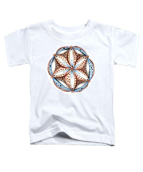 Dotted Zendala Toddler T-Shirt