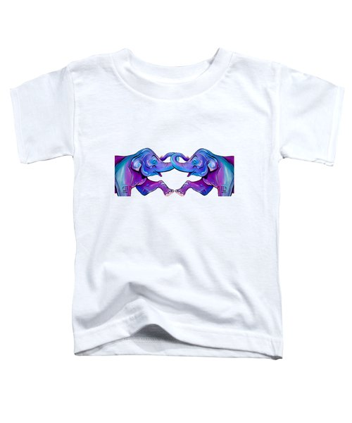 Double Take Elephant Toddler T-Shirt