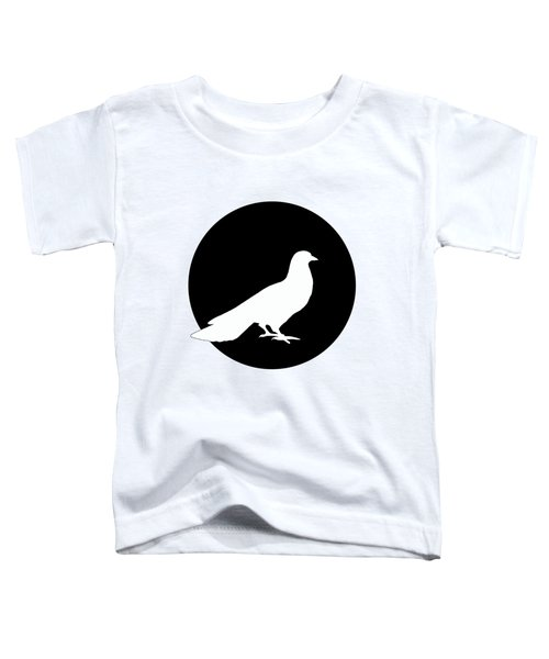 Dove Toddler T-Shirt by Mordax Furittus
