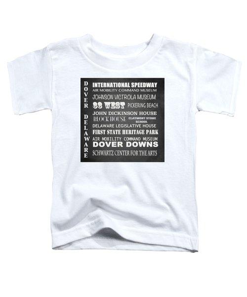 Dover Famous Landmarks Toddler T-Shirt