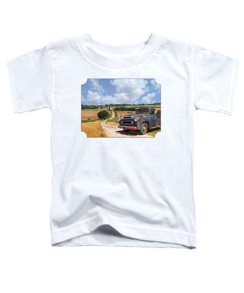 Down On The Farm - International Harvester S-100 Toddler T-Shirt