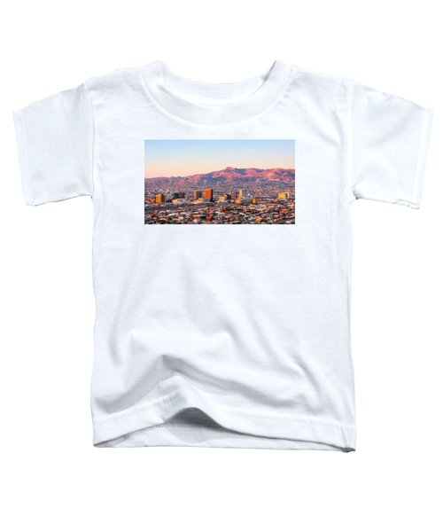 Downtown El Paso Sunrise Toddler T-Shirt