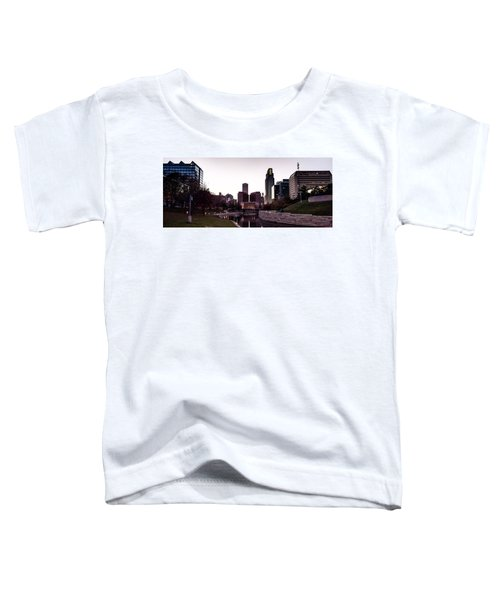 Downtown Omaha At Sunset Toddler T-Shirt