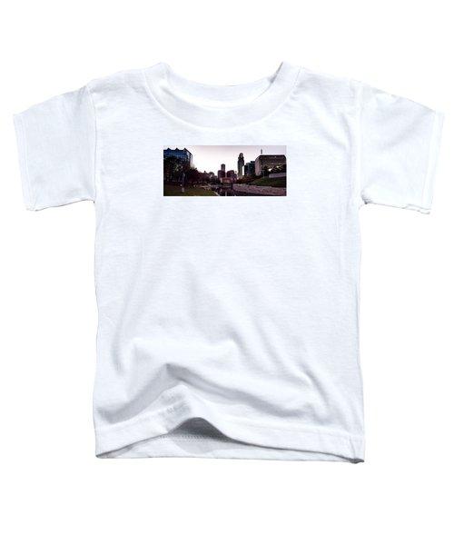 Downtown Omaha At Sunset Toddler T-Shirt