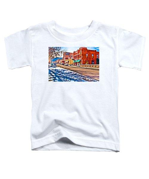 Downtown Salida Hotels Toddler T-Shirt