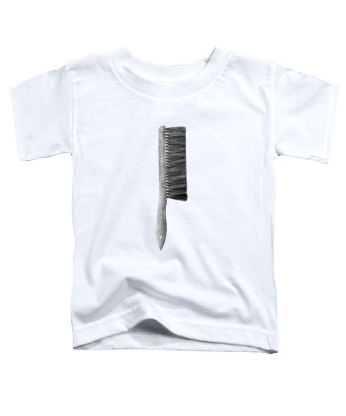 Drafting Brush Toddler T-Shirt by YoPedro