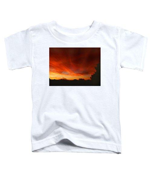 Drama At Sunrise Toddler T-Shirt