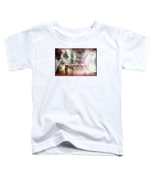 Drawing On A Frozen Lake Toddler T-Shirt