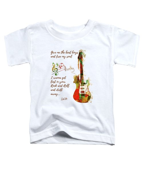 Drift Away Toddler T-Shirt by Nikki Marie Smith