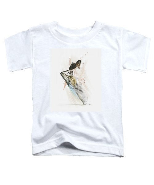 Drift Contemporary Dance Toddler T-Shirt