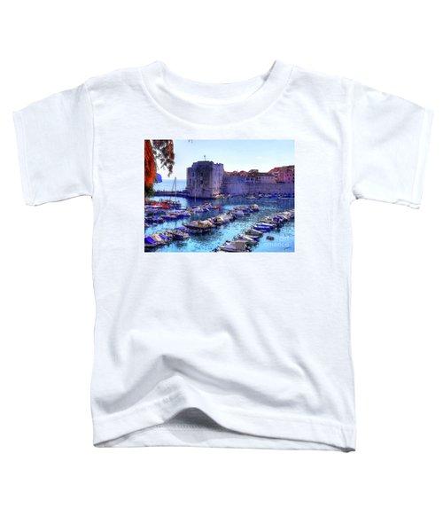 Dubrovnik Harbour Toddler T-Shirt