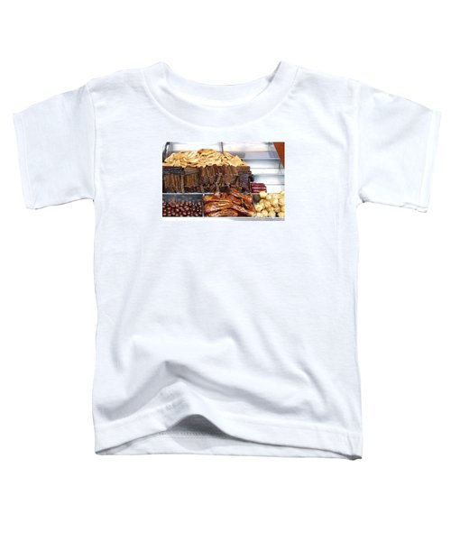 Duck Heads In Soy Sauce And Rice And Blood Cakes Toddler T-Shirt