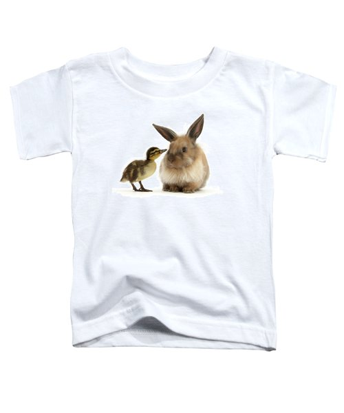 Duck Out Bunny Toddler T-Shirt