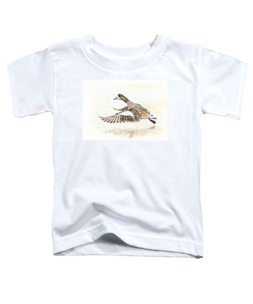 Duck Taking Off. Toddler T-Shirt