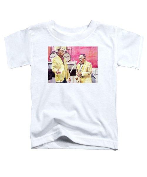 Duke Ellington And Johnny Hodges Toddler T-Shirt