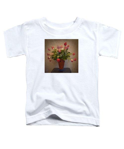 Dutch Flowers Blooming Toddler T-Shirt