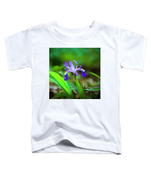 Dwarf Crested Iris Toddler T-Shirt