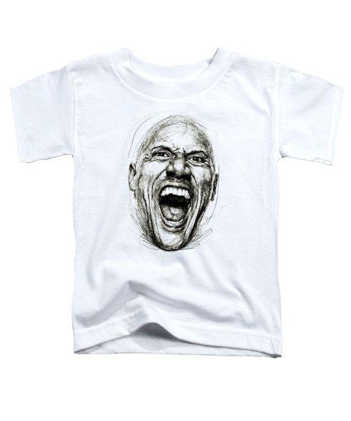 Dwayne The Rock Johnson Toddler T-Shirt