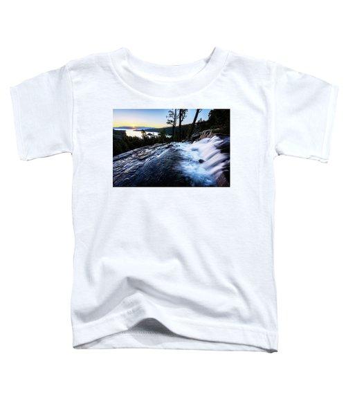 Eagle Falls At Emerald Bay Toddler T-Shirt