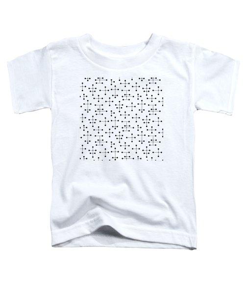 Mid Century Modern Dots 99 Toddler T-Shirt