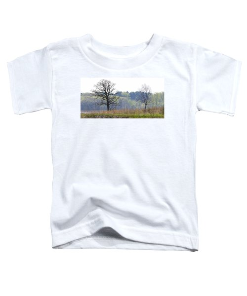 Early Spring Silhouettes  Toddler T-Shirt