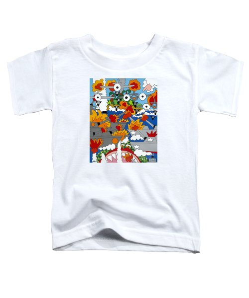 East Meets West Toddler T-Shirt