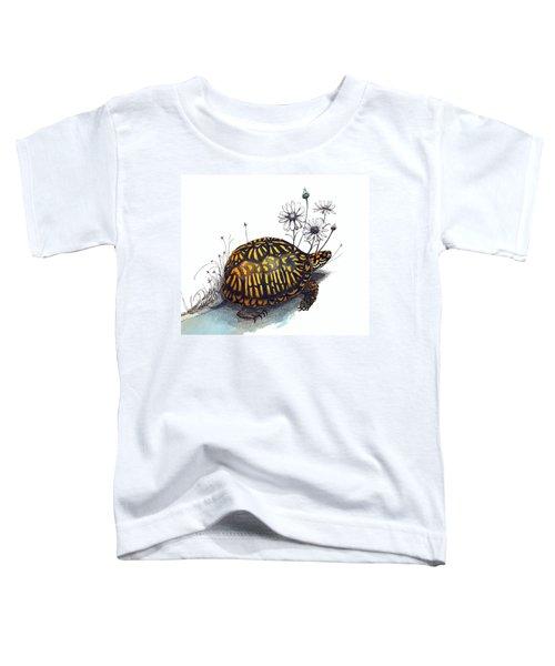 Eastern Box Turtle Toddler T-Shirt
