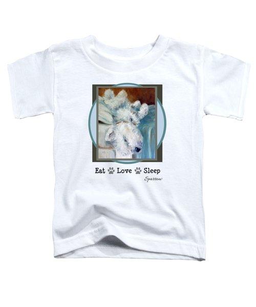 Eat Love Sleep Toddler T-Shirt