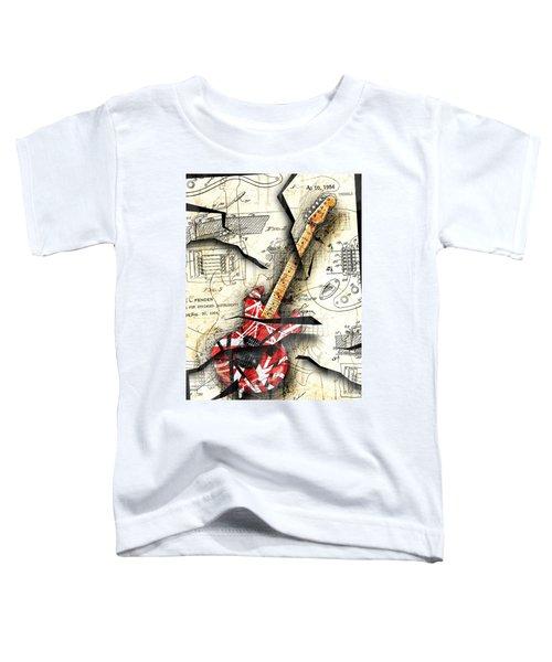 Eddie's Guitar Toddler T-Shirt