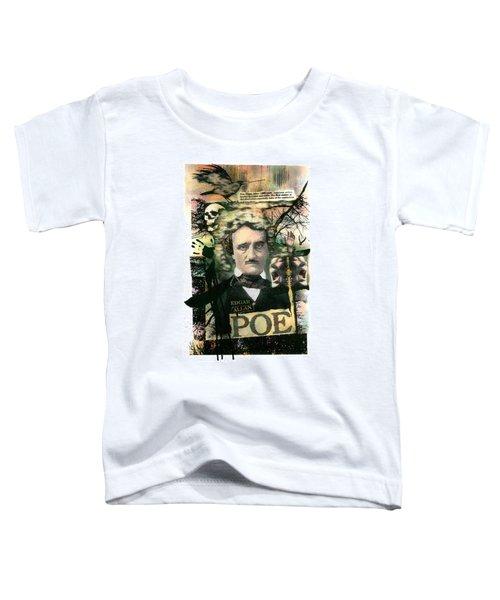 Edgar Allan Poe Toddler T-Shirt