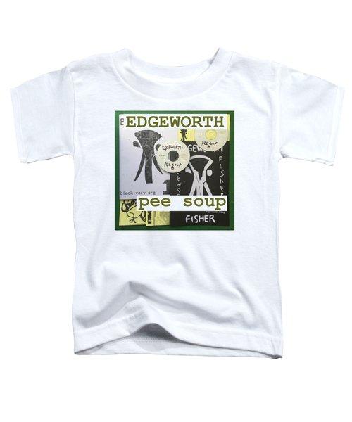 Edgeworth Pee Soup Album Cover Design Toddler T-Shirt