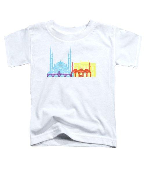 Edirne Skyline Pop Toddler T-Shirt