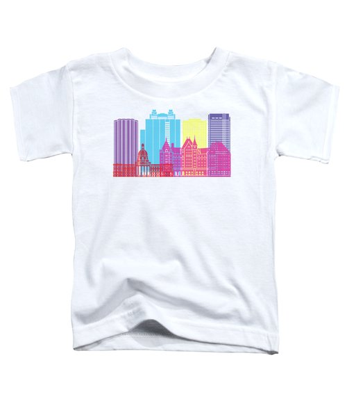 Edmonton V2 Skyline Pop Toddler T-Shirt