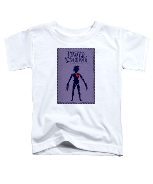 Edward Scissorhands Alternative Poster Toddler T-Shirt by Christopher Ables