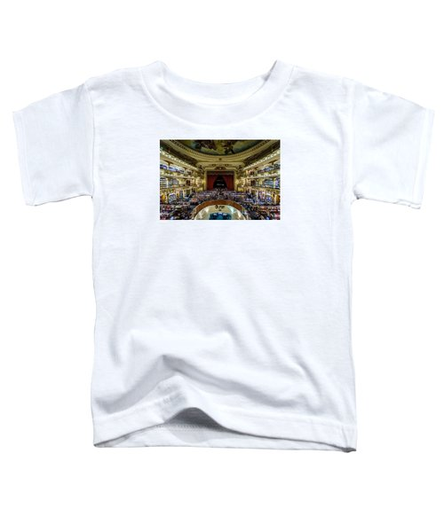 El Ateneo Grand Splendid Toddler T-Shirt