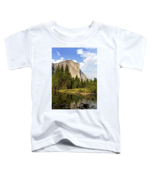 El Capitan Yosemite National Park California Toddler T-Shirt