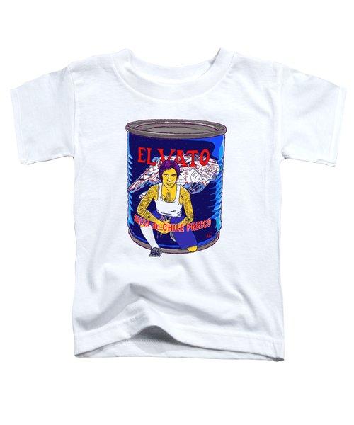 El Vato 4 Toddler T-Shirt by Armando Padilla