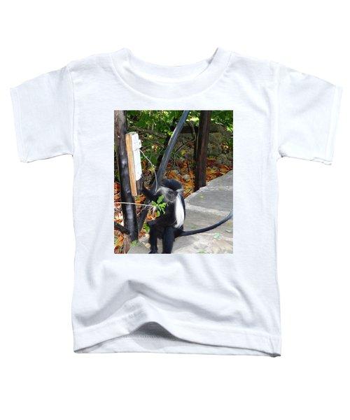 Electrical Work - Monkey Power Toddler T-Shirt