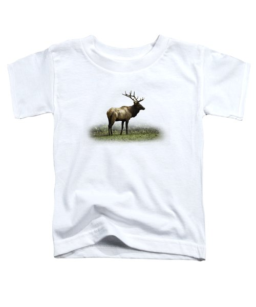 Toddler T-Shirt featuring the photograph Elk IIi by Debra and Dave Vanderlaan