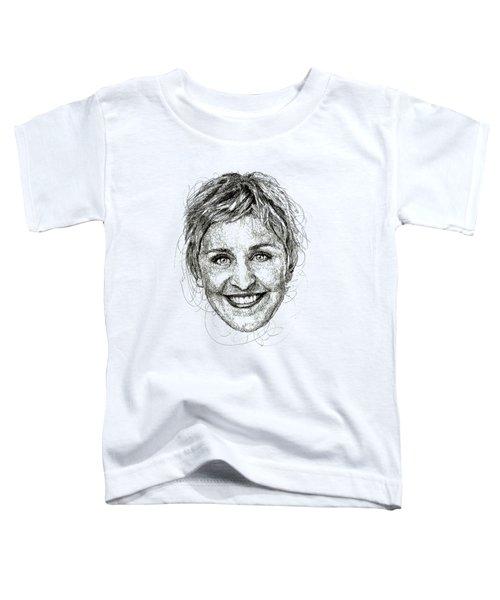Ellen Degeneres Toddler T-Shirt