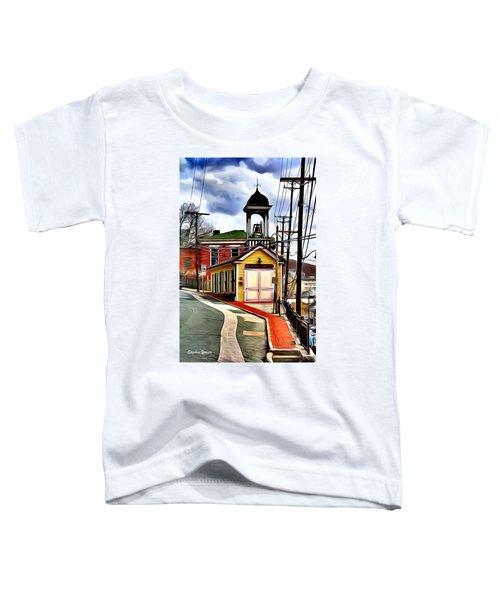 Ellicott City Fire Museum Toddler T-Shirt