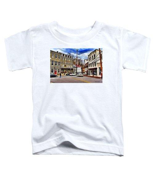 Ellicott City Streets Toddler T-Shirt